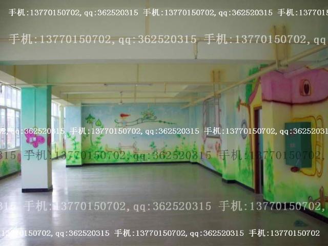 幼儿园环境布置:幼儿园墙壁装饰幼儿园内墙装饰