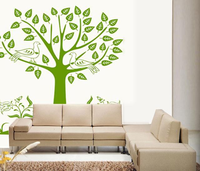 壁纸和手绘墙的区别