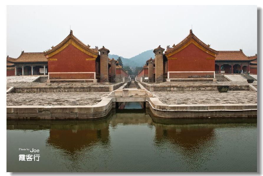 重修后的慈禧陵墓是清代皇陵中最豪华的一座陵寝.三殿的梁枋都用名图片