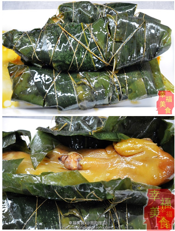 端午节日粽叶飘香一起尝尝香而不腻的粽香猪蹄 - 慢生活美食客 - 慢生活美食客