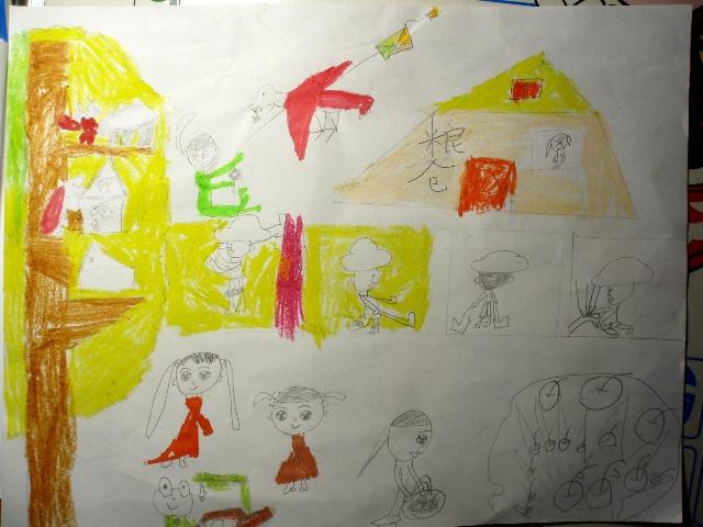 文老师要求先画一幅秋天的图-画一幅秋天景色的画图片大全 习作也