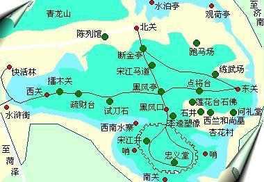 不过水泊梁山风景区是山东省政府1985年公布的省级风景名胜区.