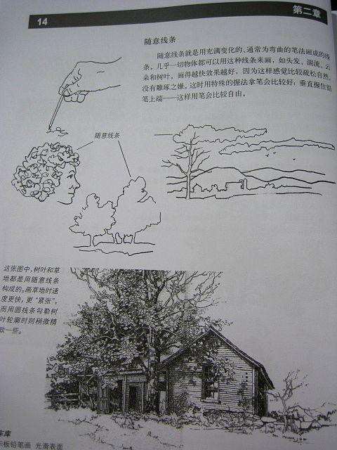 某同学要看的 风景画绘画技巧>