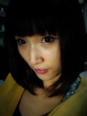 人生第一个齐刘海,就把我剪成了那个大脸的蒋小涵!图片