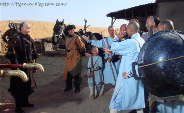 《少林寺传奇3--大漠英豪》剧照图片图片