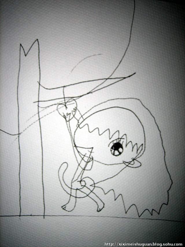 小猴子公主摘桃子