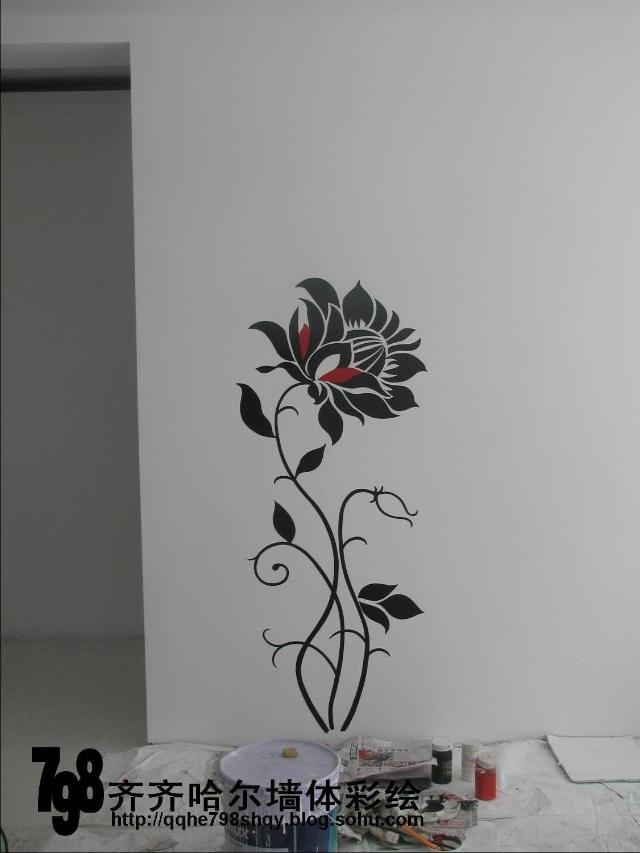 798手绘墙画