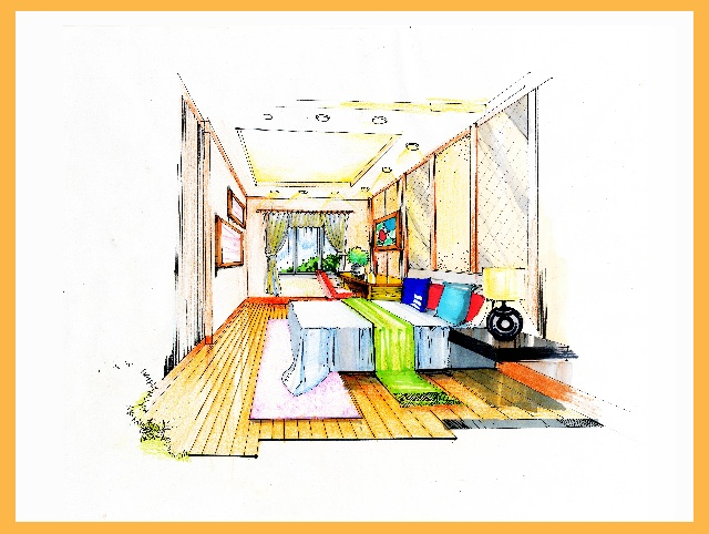 奥特朗杯室内设计大赛广州赛区gzy069号--简约与图片