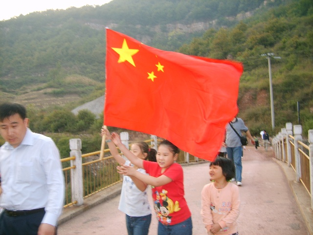 红旗旗渠形成系列风光带