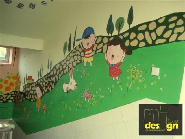 昌黎县幼儿园手绘