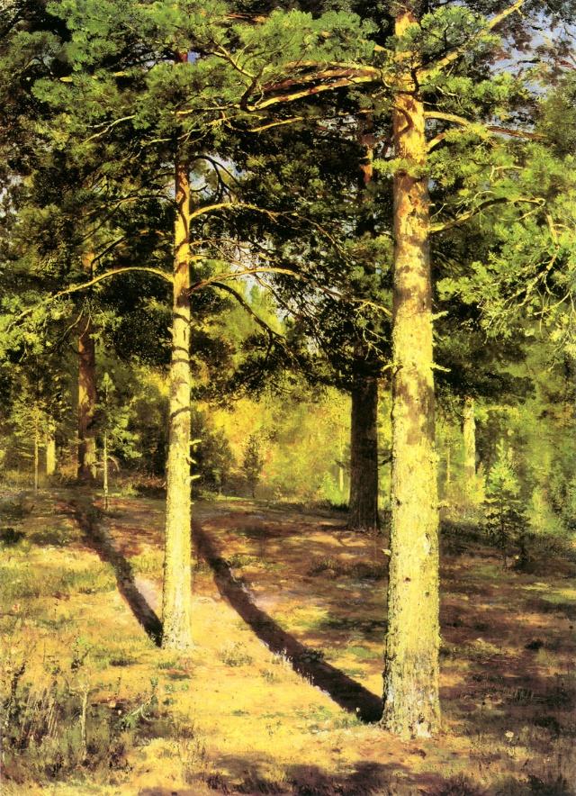 这位俄罗斯杰出的风景画大师,一生中画过千林万树,人们把他的绘画誉为