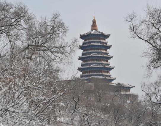 辽源市龙首山风景图片