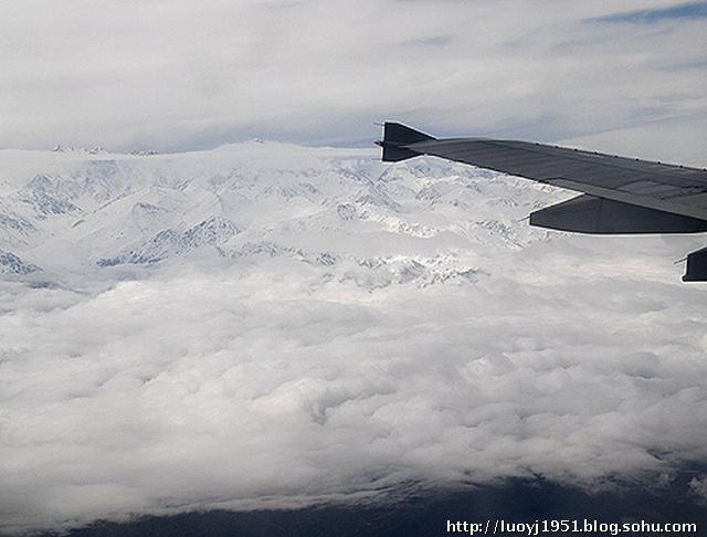 您从北京坐飞机前往西藏