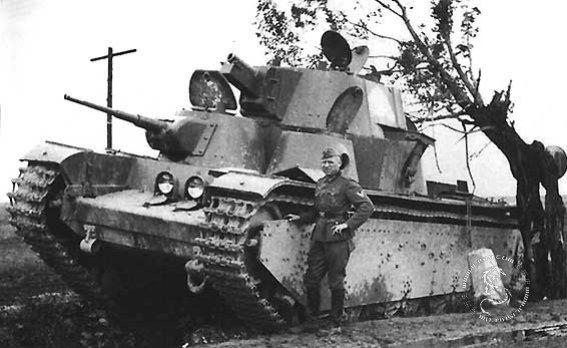 三头六臂 的怪物t 35坦克