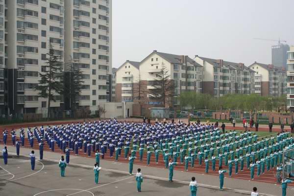 沂河实验学校成功举办新学期的第一个校园开放日