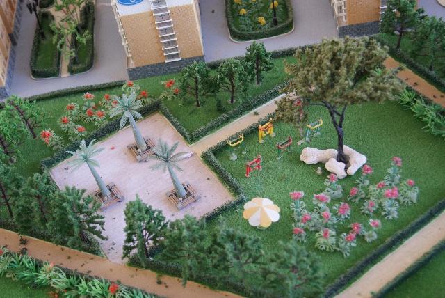 威海市绿地系统结构分析图