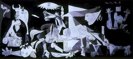 毕加索抽象画作品图片 抽象画大师作品欣赏,抽象画作品
