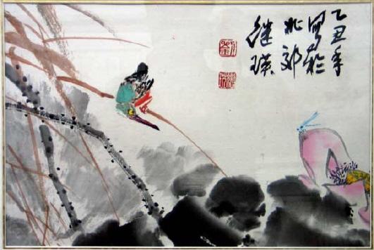 写风写风的诗句_王雪涛学生们的作品-马车夫的收藏博客-搜狐博客