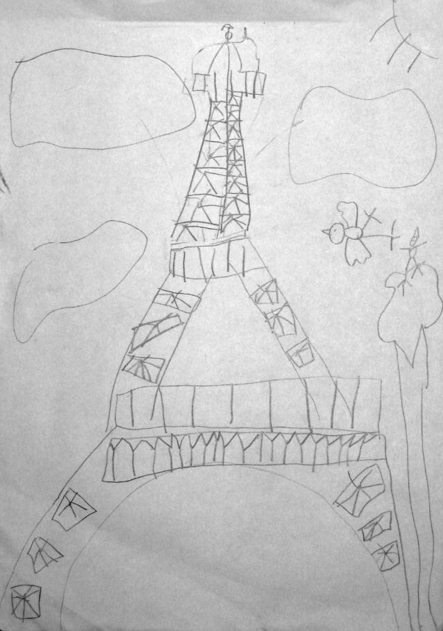 幼儿园简单手绘可爱铅笔画