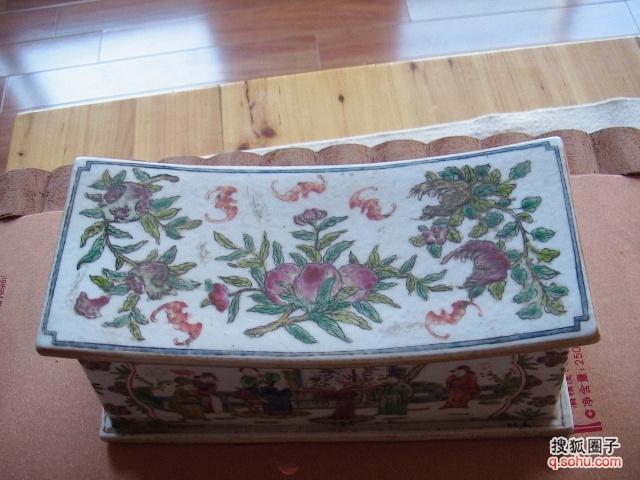 瓷枕  瓷枕