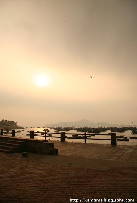 清晨朝气风景图