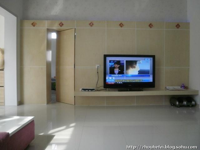 客厅暗门背景墙