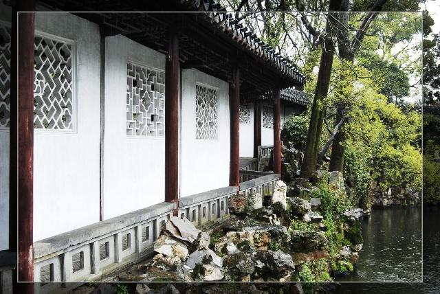 赏苏州古典园林之回廊