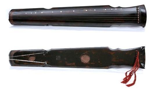 学琴笔记(一):古琴式样图片