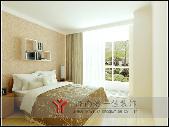 小卧室墙上花格造型图