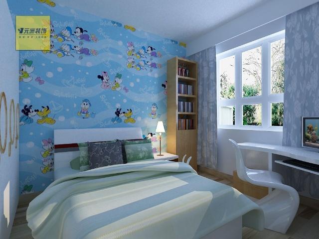 一居室-115㎡-客厅装修效果图;