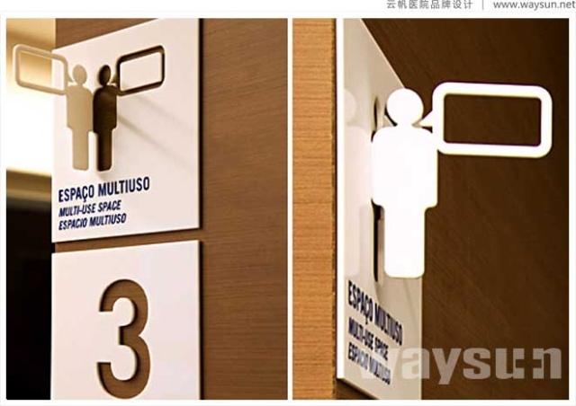 医院环境导示设计制作,医院标识牌设计制作,医院科室牌设计制作