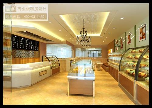河北冀州烘焙坊设计效果图方案-蛋糕店装修设计-我的