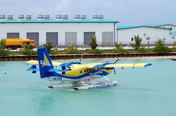 马尔代夫最特色的娱乐项目:水上飞机