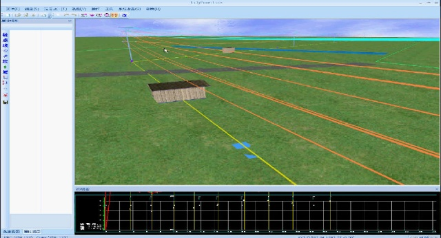 架空送电线路测量平断面设计cad软件