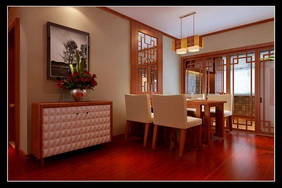 赏 中式风格 109平复式家如何 沈阳设计高清图片