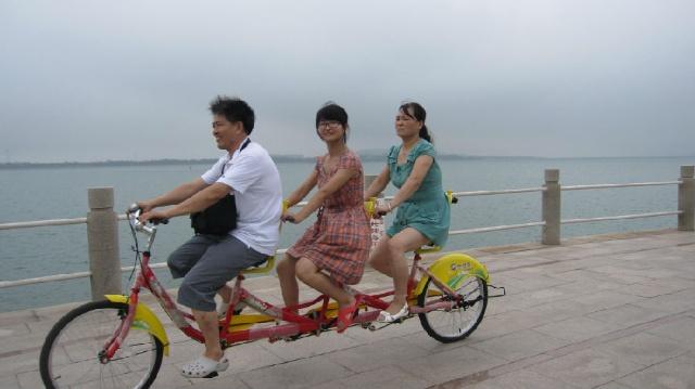 青岛唐岛湾公园一游