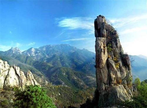漂阳南山风景图片