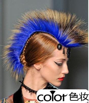 夸张创意发型图片展示