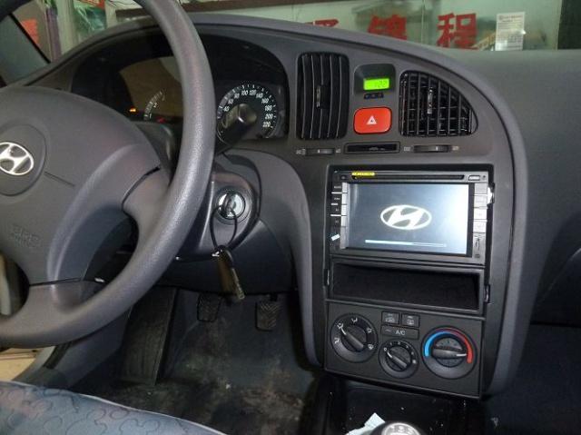 现代伊兰特升级恒晨专用车载dvd导航一体机