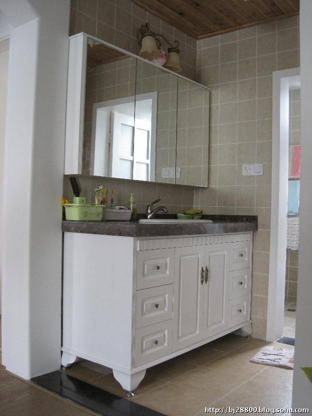卫生间干湿分区,外部的洗手池