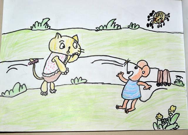 丑小鴨故事圖片簡筆畫內容圖片展示_丑小鴨故事圖