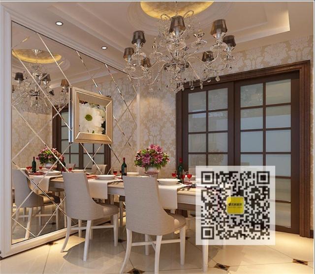 新古典主义风格设计; 187平米低调奢华欧式风格装修