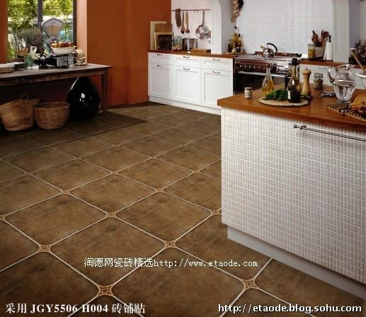 时尚式厨房墙砖-欧式厨房瓷砖贴图